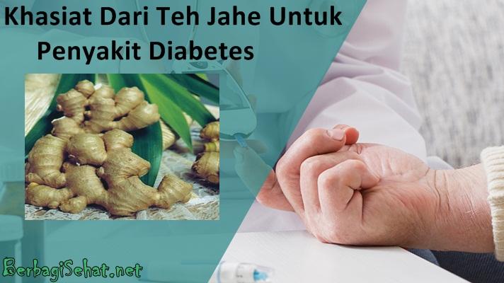 Khasiat Teh Jahe Untuk Kurangi Efek Diabetes